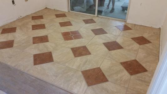 Gabes Maintenance - Custom cut ceramic tile